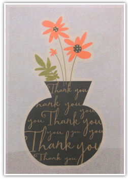 Testimonials Cards: -Thank You - |flowers|