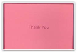 Testimonials Cards: - Thank You